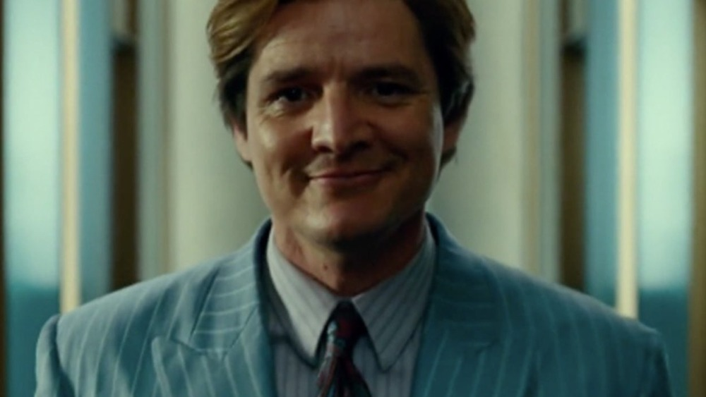 Maxwell Lord smiling in Wonder Woman 1984