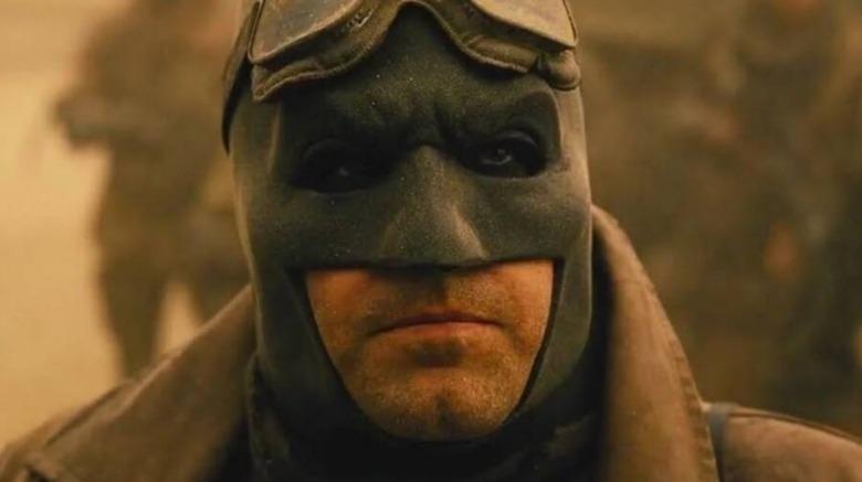Ben Affleck as Batman in Zach Snyder's Justice League