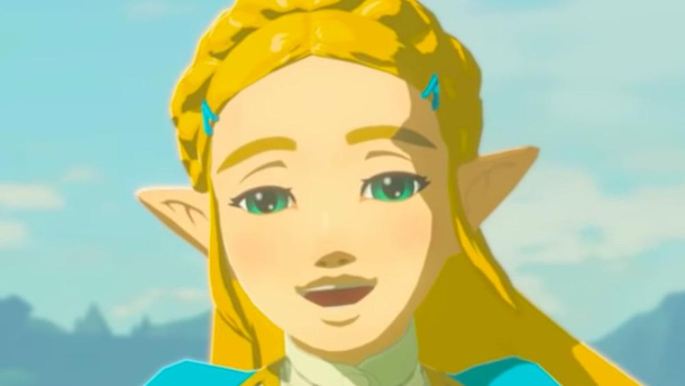 Zelda smiles