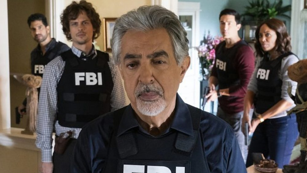 The BAU team on Criminal Minds