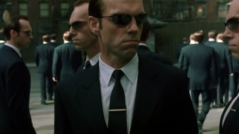 Hugo Weaving in The Matrix Reloaded