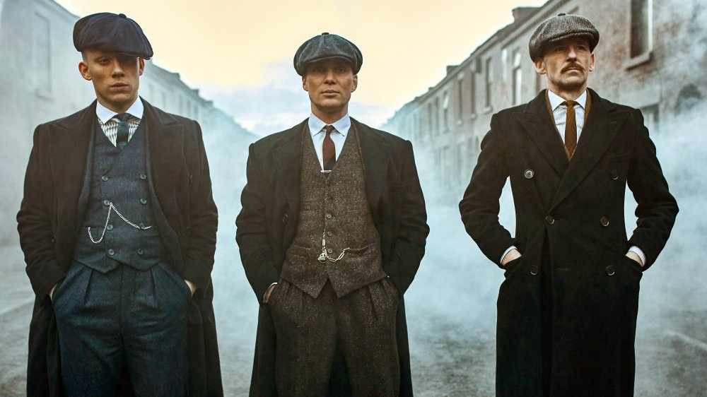 The Shelby brothers in Peaky Blinders