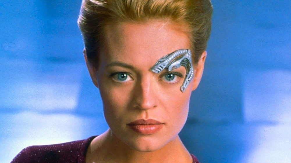Seven of Nine stares
