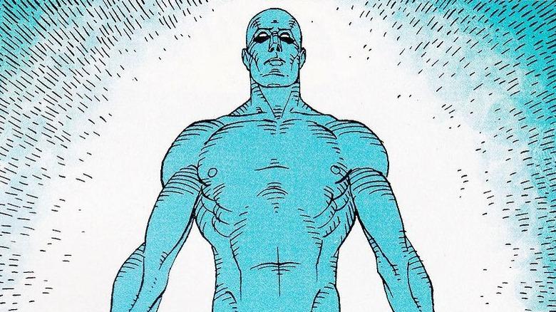 Doctor Manhattan from Watchmen