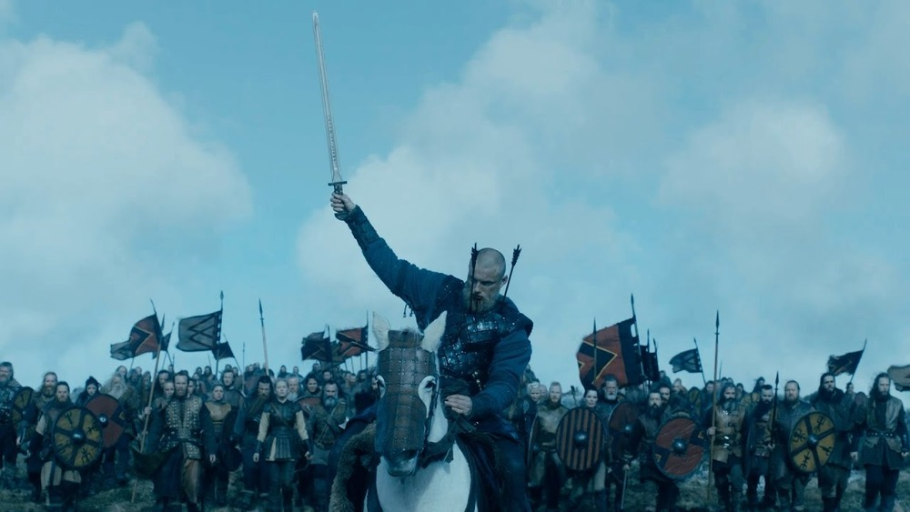 Bjorn rallies his troops as his final act