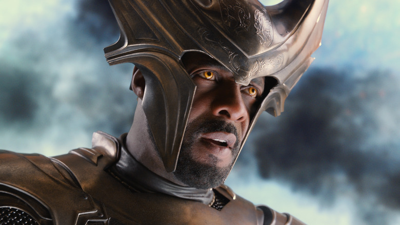 Idris Elba as Heimdall in 2011's Thor