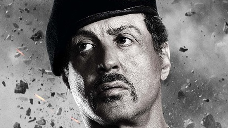 Sylvester Stallone in Expendables 2