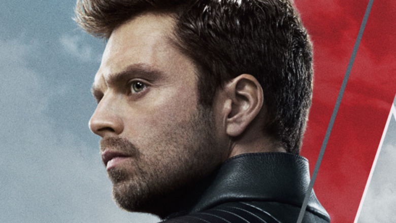 Bucky looking to the side