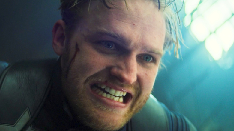 Wyatt Russell John Walker growling
