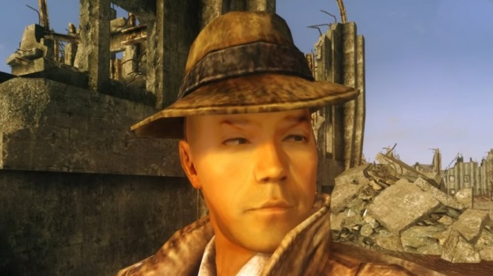 The Mysterious Stranger from Fallout 76