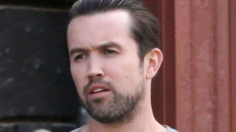 Rob McElhenney at a red carpet