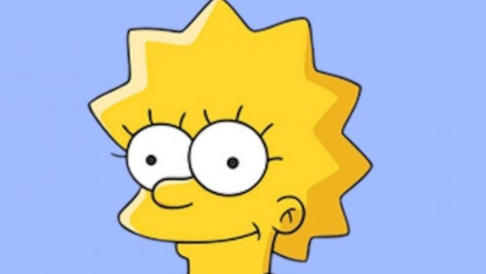 Lisa Simpson smiling