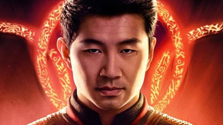 Simu Li as Shang-Chi looking at camera