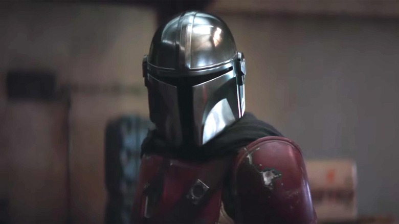 Pedro Pascal on The Mandalorian