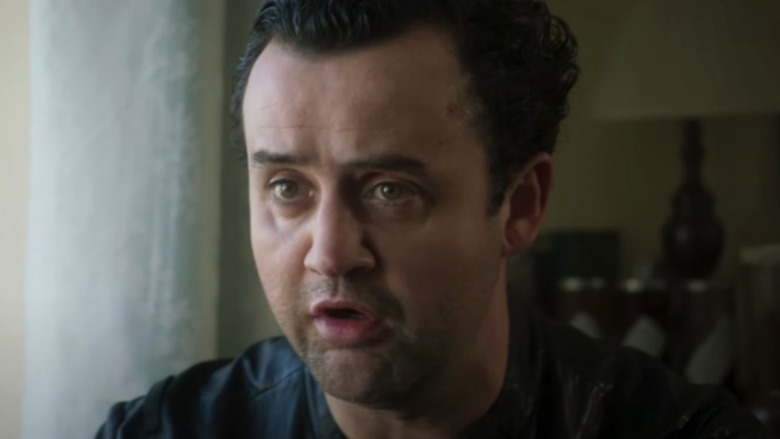 Daniel Mays Danny surprised