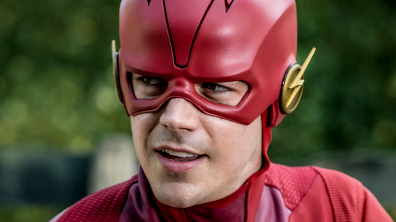 The Flash in costume