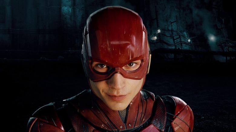 Ezra Miller as the Flash