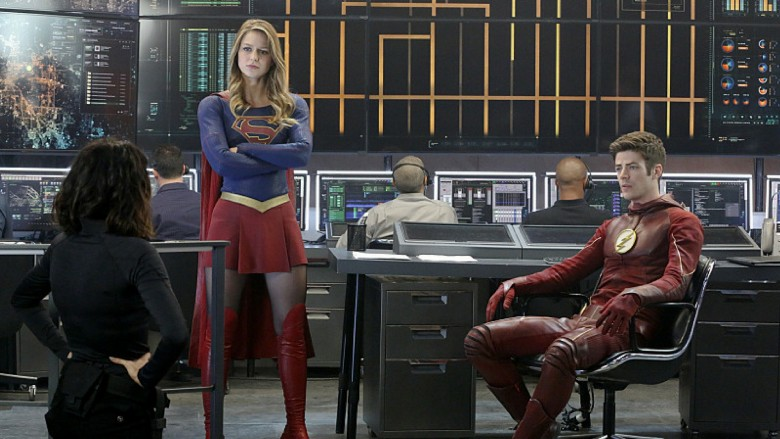 what episode is the flash and supergirl musical