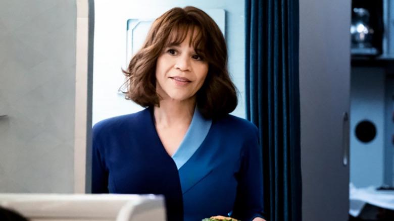 Rosie Perez as Megan on The Flight Attendant