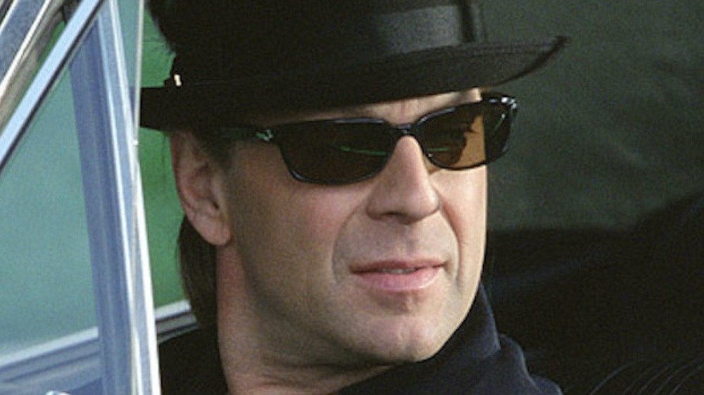 Bruce Willis playing it cool