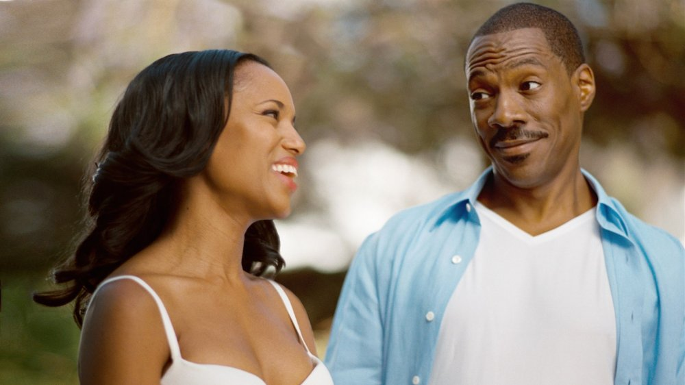 Eddie Murphy and Kerry Washington in A Thousand Words