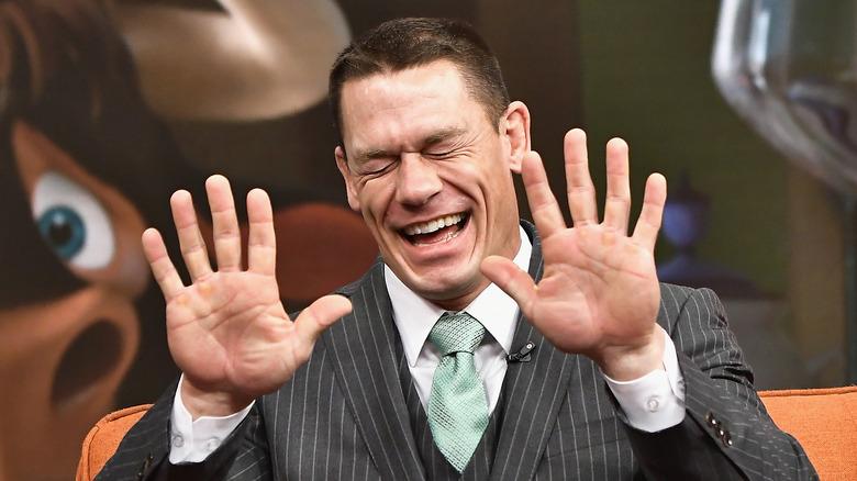 John Cena laughing