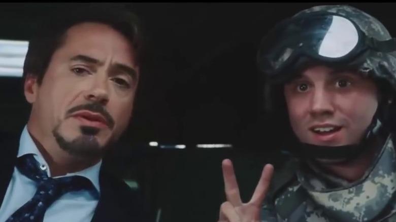 Scene from Iron Man