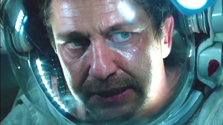 Gerard Butler Geostorm space suit