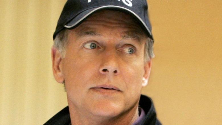 NCIS Gibbs Hat Surprised