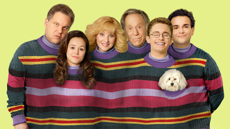 The cast of ABC's The Goldbergs heads to the wild
