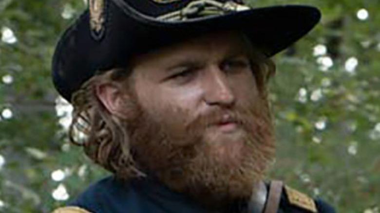 Wyatt Russell Jeb Stuart army uniform