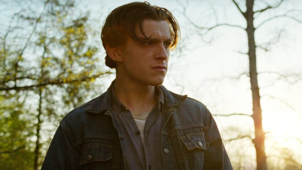 Tom Holland as Arvin Russell in Netflix's The Devil All the Time