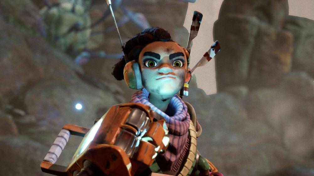 The Gunk character closeup
