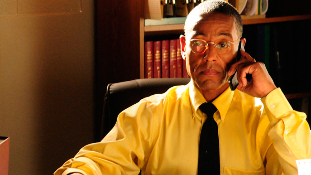 Gus Fring on the phone