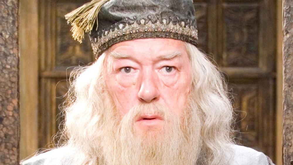 Albus Dumbledore surprised