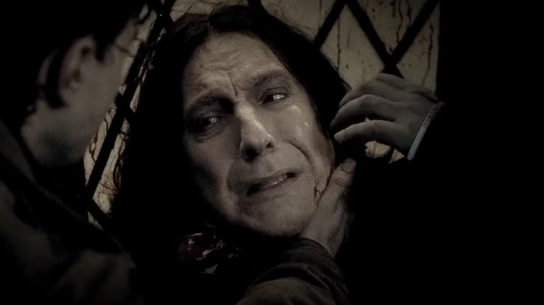 Snape dying
