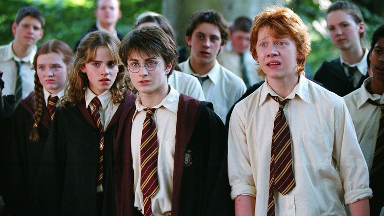 Harry Potter Harry Ron Hermione