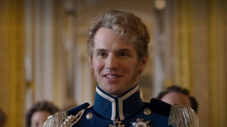 Prince Frederick greeting Daphne Bridgerton