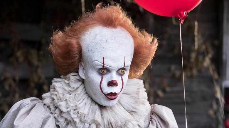 Pennywise stares