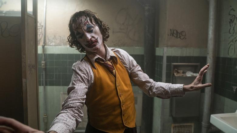 Joker dances