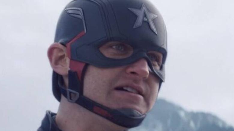 Wyatt Russell Captain America gritting teeth