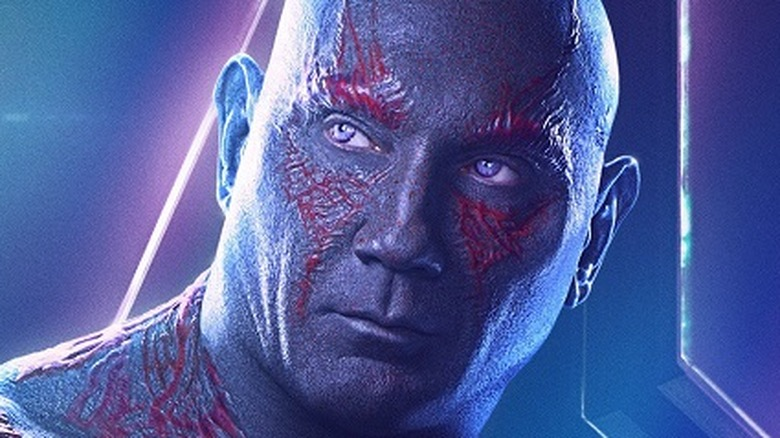 Dave Bautista as Drax in Avengers: Infinity War