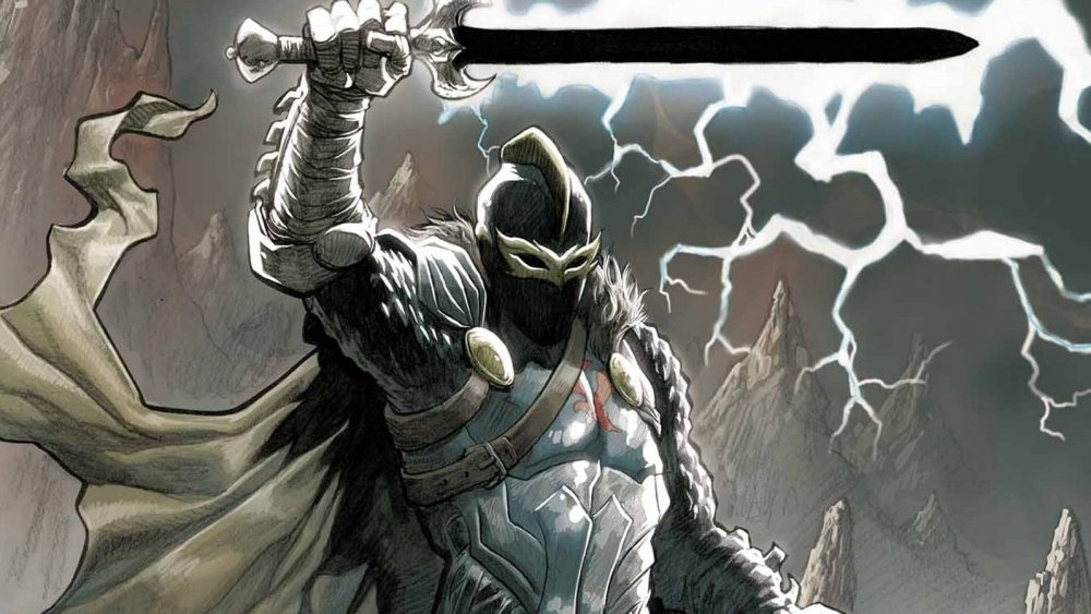 The Black Knight in the comics