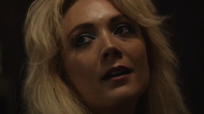 Billie Lourd in close-up