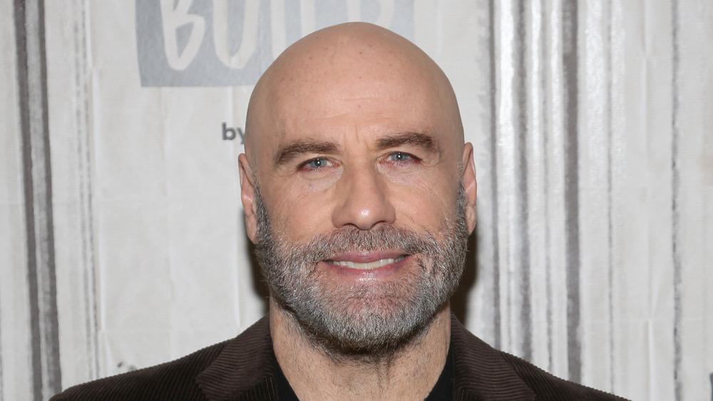 John Travolta with a beard