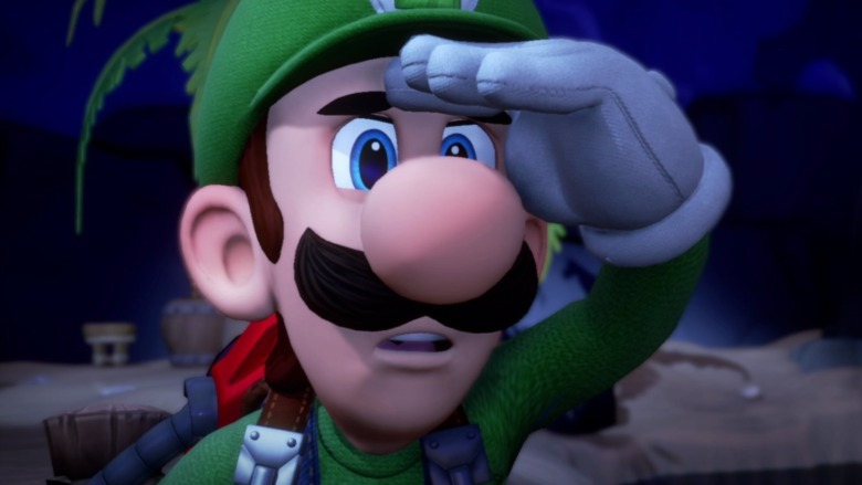 Luigi searching