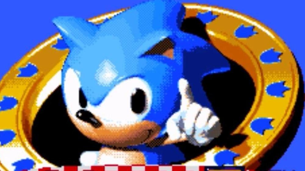 Sonic 3 title screen