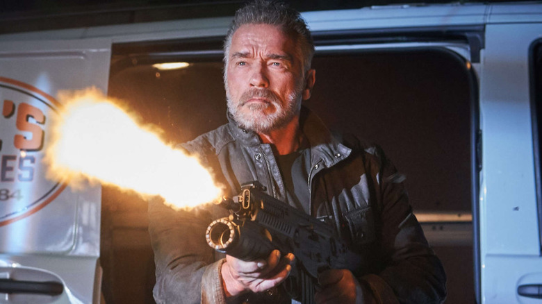 Arnold Schwarzenegger Terminator Dark Fate