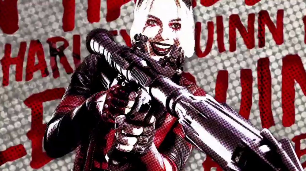 Margot Robbie as Harley Quinn The Suicide Squad roll call video
