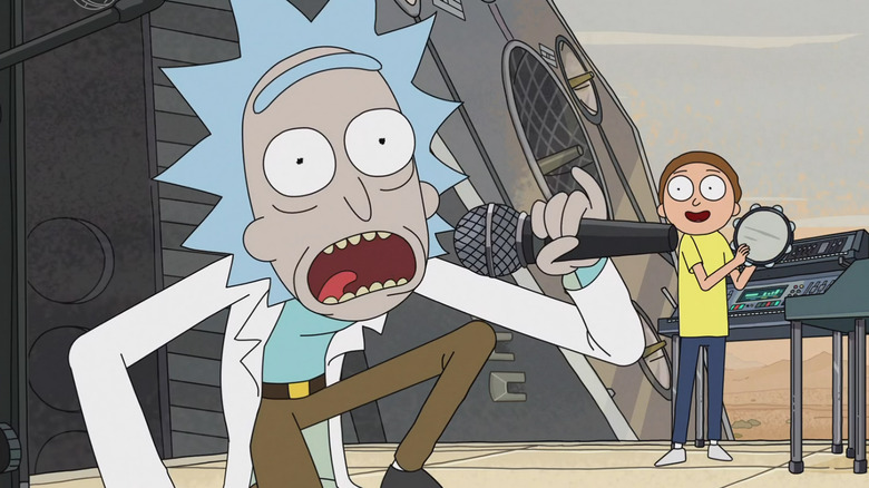 The inspiration behind Rick and Morty explained